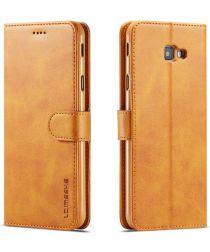 Samsung Galaxy J4 Plus Book Case Portemonnee Hoesje Bruin