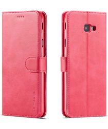 Samsung Galaxy J4 Plus Book Case Portemonnee Hoesje Roze