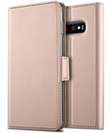 Samsung Galaxy S10 Plus Card Holder Case Rose Gold Hoesjes
