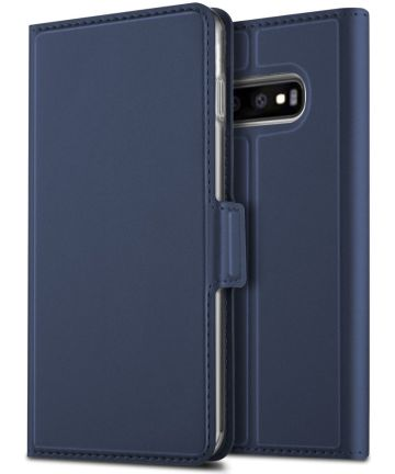 Samsung Galaxy S10 Plus Card Holder Case Blauw Hoesjes