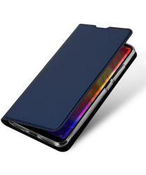 Dux Ducis Skin Pro Series Xiaomi Redmi Note 7 Flip Hoesje Blauw