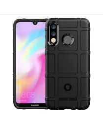 Huawei P30 Lite Anti-Shock TPU Backcover Zwart