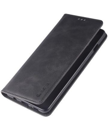 Samsung Galaxy S10 Stand Portemonnee Hoesje Zwart Hoesjes