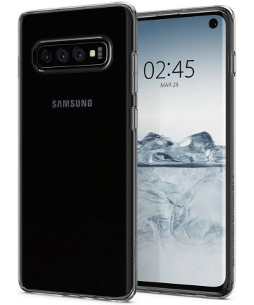 Spigen Crystal Flex Hoesje Samsung Galaxy S10 Plus Transparant Hoesjes