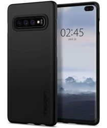 Spigen Thin Fit Hoesje Samsung Galaxy S10 Plus Zwart