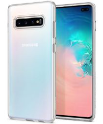 Spigen Liquid Crystal Hoesje Samsung Galaxy S10 Plus Transparant