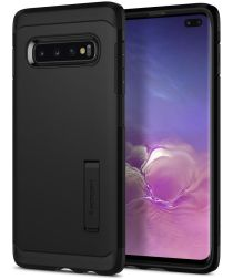 Spigen Tough Armor Hoesje Samsung Galaxy S10 Plus Zwart