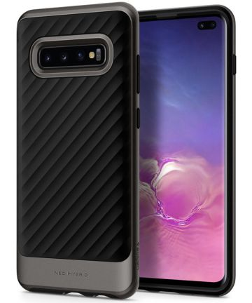 Spigen Neo Hybrid Hoesje Samsung Galaxy S10 Plus Gunmetal