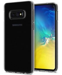 Spigen Crystal Flex Hoesje Samsung Galaxy S10E Transparant
