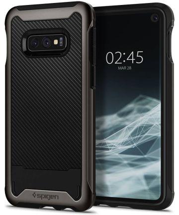 Spigen Hybrid NX Hoesje Samsung Galaxy S10E Gunmetal Hoesjes