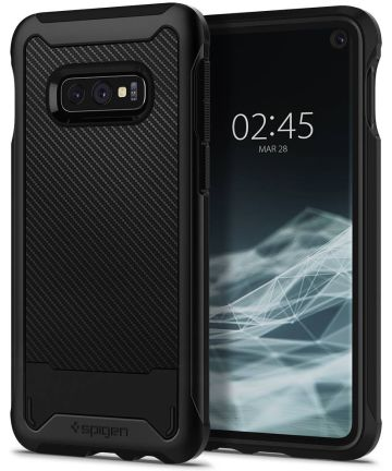 Spigen Hybrid NX Hoesje Samsung Galaxy S10E Zwart Hoesjes