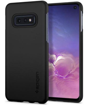 Spigen Thin Fit Hoesje Samsung Galaxy S10E Zwart Hoesjes