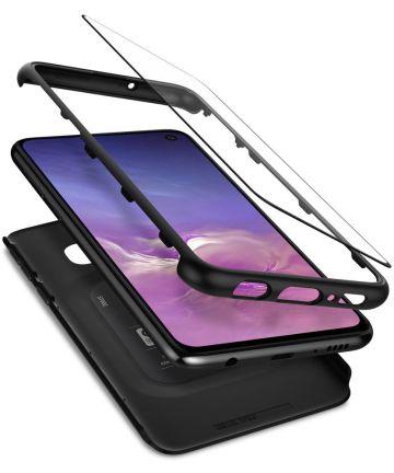Spigen Thin Fit 360 Hoesje Samsung Galaxy S10E Zwart