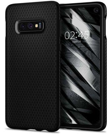 Spigen Liquid Air Hoesje Samsung Galaxy S10E Zwart Hoesjes