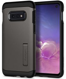 Spigen Tough Armor Hoesje Samsung Galaxy S10E Gunmetal
