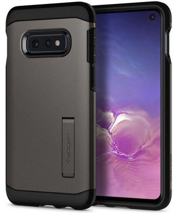 Spigen Tough Armor Hoesje Samsung Galaxy S10E Gunmetal Hoesjes