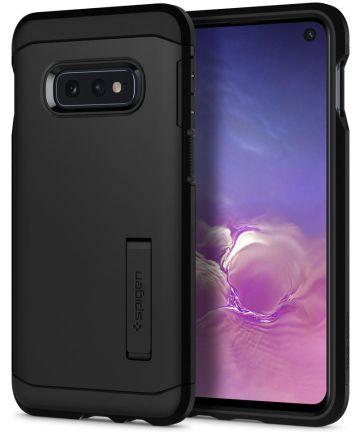 Spigen Tough Armor Hoesje Samsung Galaxy S10E Zwart Hoesjes