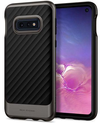 Spigen Neo Hybrid Hoesje Samsung Galaxy S10E Gunmetal Hoesjes