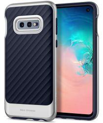 Spigen Neo Hybrid Hoesje Samsung Galaxy S10E Arctic Silver