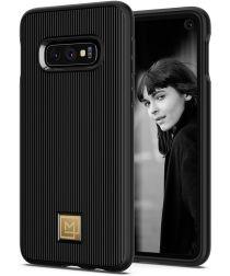 Spigen La Manon Classy Hoesje Samsung Galaxy S10E Zwart