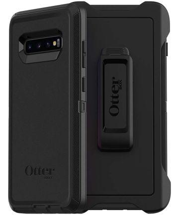 Otterbox Defender Case Samsung Galaxy S10 Plus Zwart Hoesjes