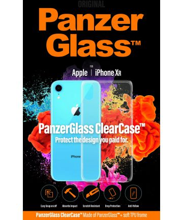 Panzerglass Apple iPhone XR ClearCase Transparant Hoesje