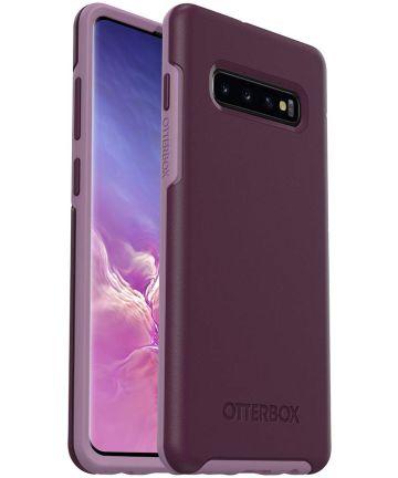 OtterBox Symmetry Hoesje Samsung Galaxy S10 Plus Paars Hoesjes