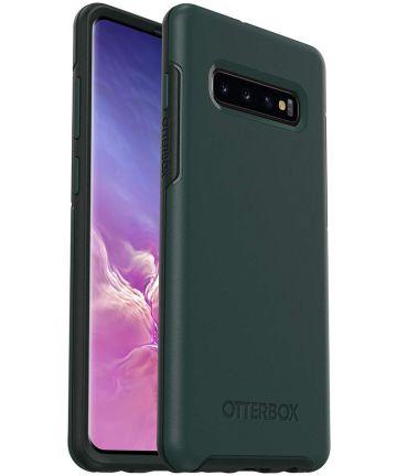OtterBox Symmetry Hoesje Samsung Galaxy S10 Plus Groen