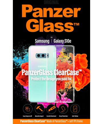 Panzerglass Samsung Galaxy S10E ClearCase Transparant Hoesje Hoesjes