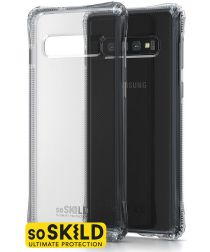 SoSkild Samsung Galaxy S10 Transparant Hoesje Absorb Impact Backcover