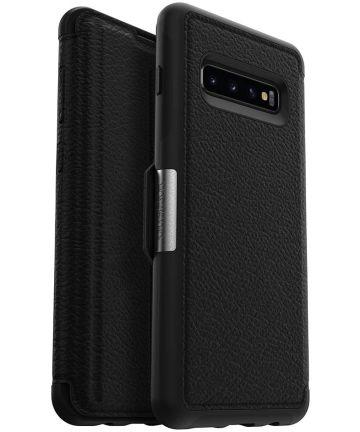 Otterbox Strada Hoesje Samsung Galaxy S10 Zwart Hoesjes