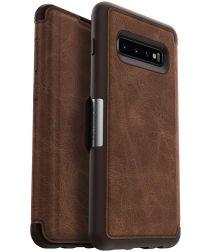 Otterbox Strada Hoesje Samsung Galaxy S10 Plus Bruin