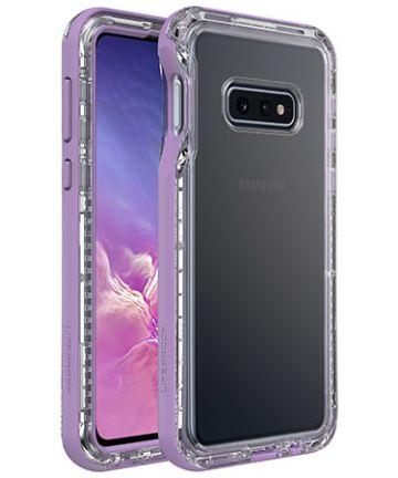 Lifeproof Nëxt Samsung Galaxy S10E Hoesje Paars Hoesjes