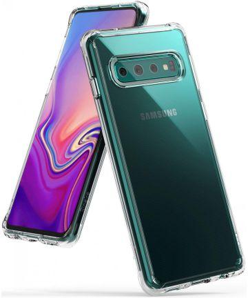Ringke Fusion Samsung Galaxy S10 Hoesje Transparant