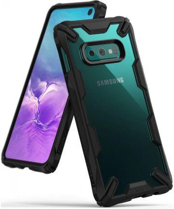 Ringke Fusion X Samsung Galaxy S10E Hoesje Zwart Hoesjes