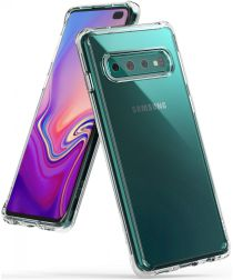Ringke Fusion Samsung Galaxy S10 Plus Hoesje Transparant
