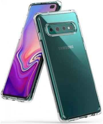 Ringke Fusion Samsung Galaxy S10 Plus Hoesje Transparant Hoesjes