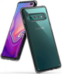 Ringke Fusion Samsung Galaxy S10 Plus Hoesje Smoke Black