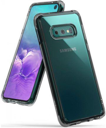 Ringke Fusion Samsung Galaxy S10E Hoesje Smoke Black Hoesjes