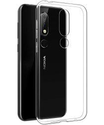 Nokia 6.1 Plus TPU Hoesje Transparant