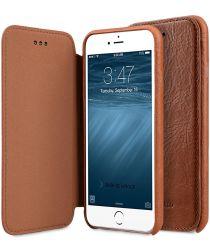 Melkco Elite Apple iPhone 6 / 6S Book Case Echt Leer Bruin