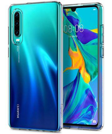 Spigen Liquid Crystal Hoesje Huawei P30 Transparant Hoesjes