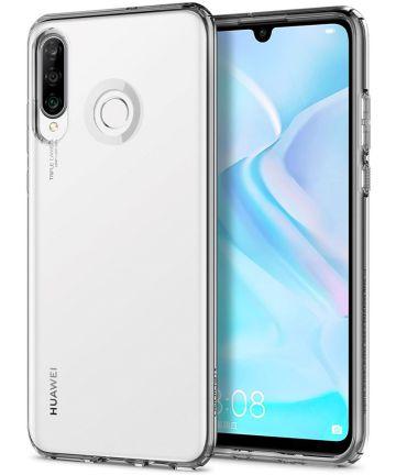 Spigen Liquid Crystal Hoesje Huawei P30 Lite Transparant Hoesjes
