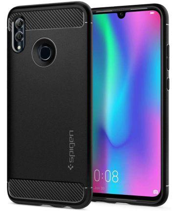 Spigen Rugged Armor Hoesje Huawei P Smart (2019) Zwart Hoesjes
