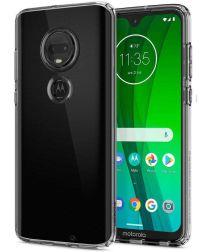 Spigen Liquid Crystal Hoesje Motorola Moto G7 Transparant