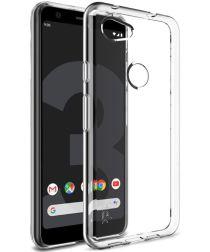 IMAK UX-5 Series Google Pixel 3A Hoesje Flexibel TPU Transparant