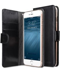 Melkco Book Cover Apple iPhone 7 Plus / 8 Plus Hoesje Zwart