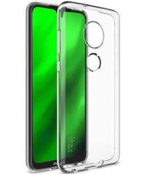 IMAK UX-5 Series Motorola Moto G7 Hoesje Flexibel TPU Transparant