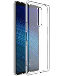IMAK UX-5 Series Sony Xperia 1 Hoesje Flexibel en Dun TPU Transparant
