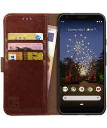 Rosso Element Google Pixel 3A Hoesje Book Cover Bruin